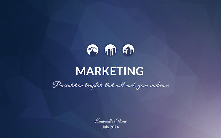 marketing-presentation-template image