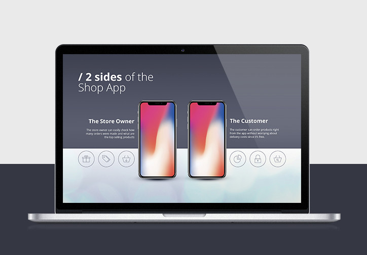 iPhone App PowerPoint Template