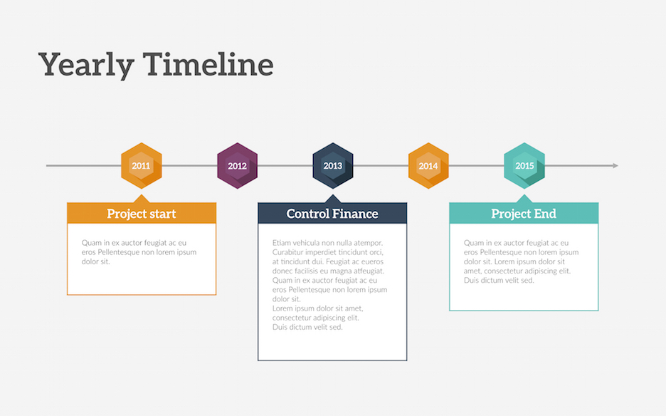 Timeline PowerPoint Template Improve Presentation