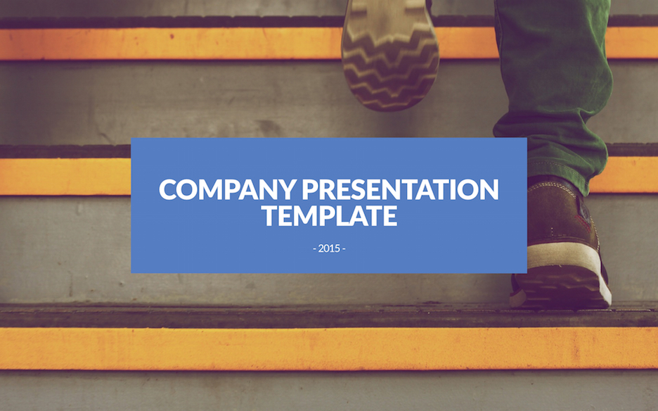 company-presentation-template image