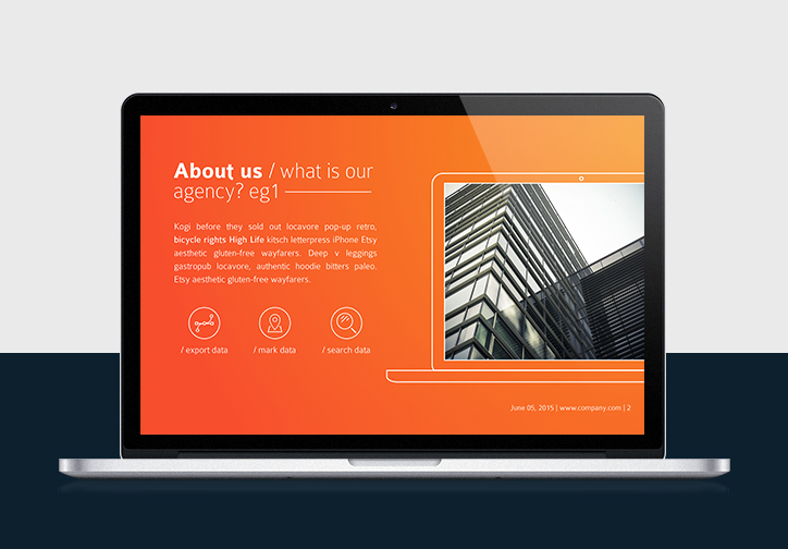 Agency<br/> Presentation Template