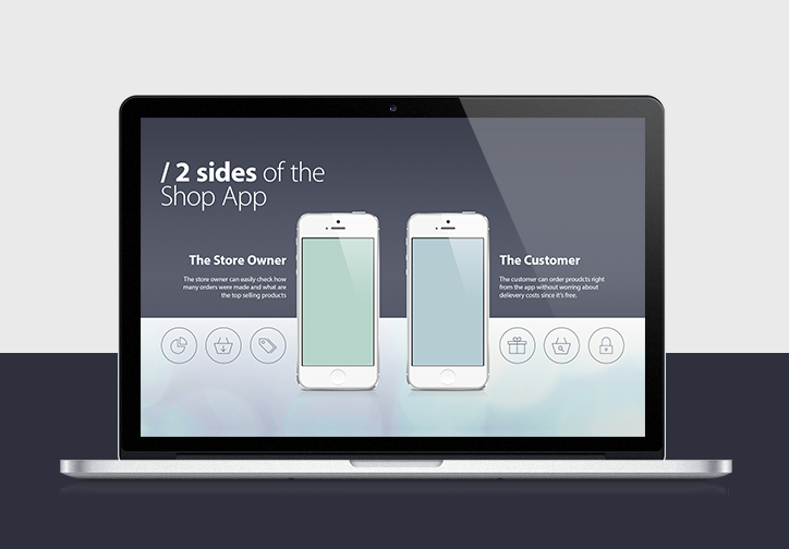 iPhone App Presentation Template