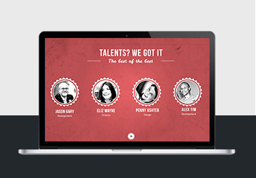 Red Carpet  Keynote Template