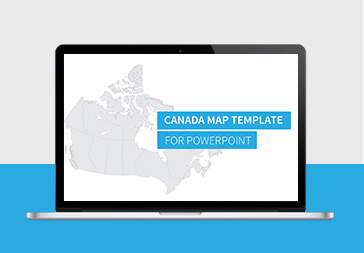 Canada Map <br> For PowerPoint