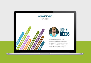 Simple and Colorful  PowerPoint Template